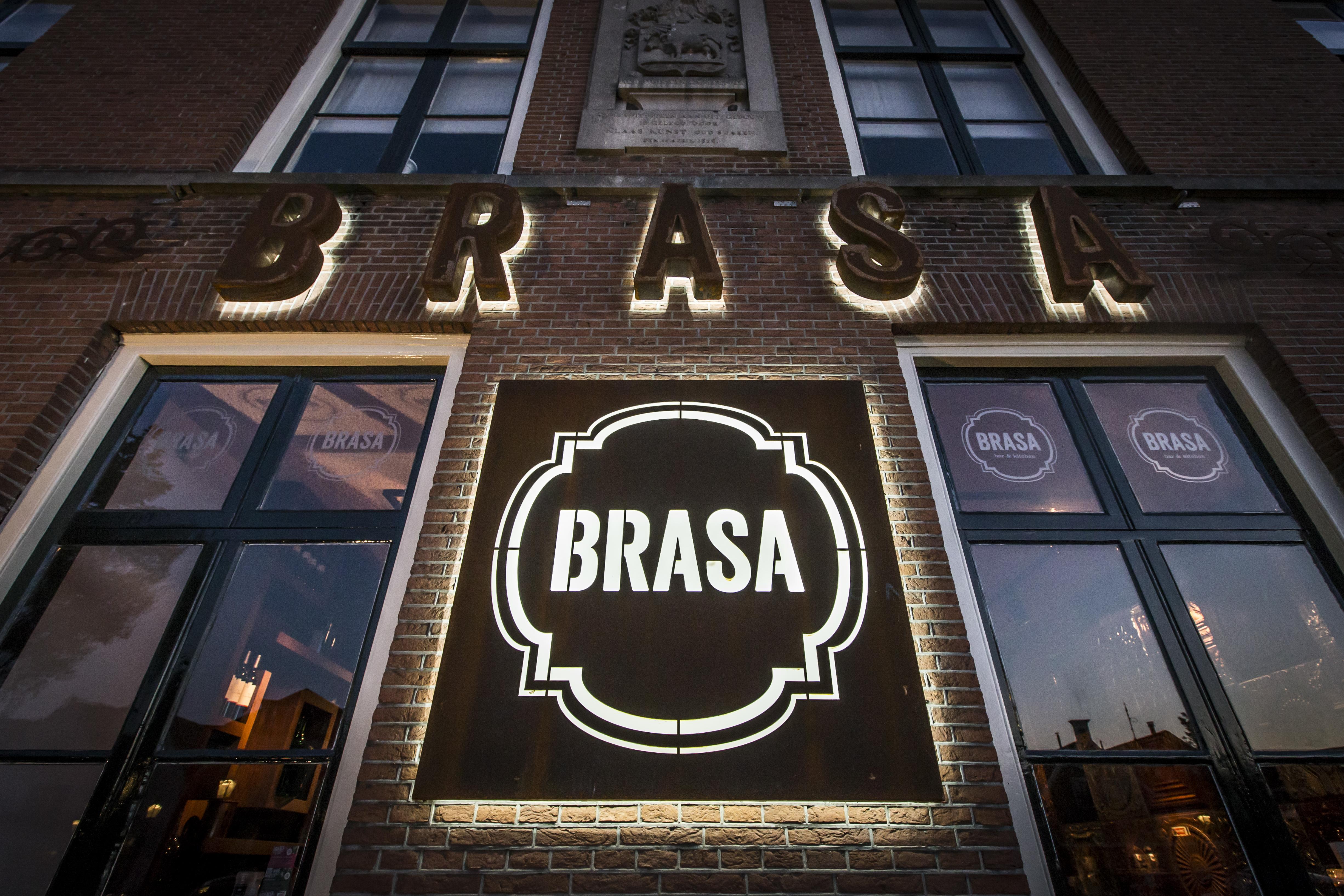restaurant brasa beemster logo